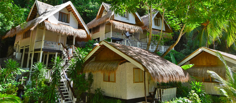 Php 21,500<br> for a Garden Cottage - Miniloc Island