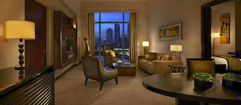 Php 18,267<br> for a Fairmont Gold Corner Suite - Fairmont Hotel Makati